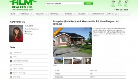 Content-rich, printer-friendly property listing page with great SEO